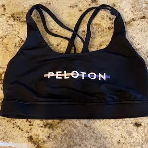 Lululemon Peloton Stripe Energy Sports Bra